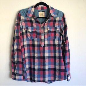 An American brand plaid shirt